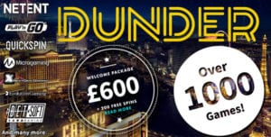 Top Bonuses for Players at Dunder Casino