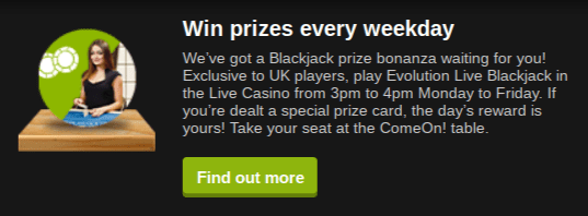 Win Prizes Everyday and Weekend