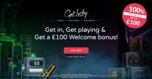 Visit Get Lucky Casino and Use Your 100% Bonus
