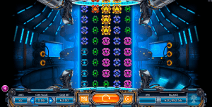 An Example of the Play Board on Power Plant Slot