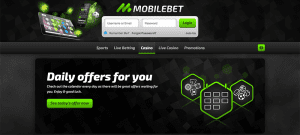 Mobile Bet Casino Daily Offers Image