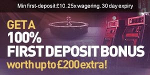 Claim up to £200 Extra with SuperCasino