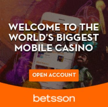 Sign Up to Betsson Casino Today