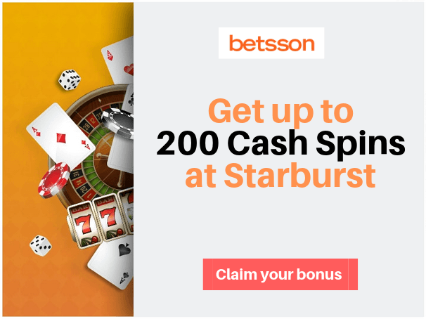 Get Your Welcome Bonus at Betsson Casino Today