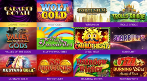 Big Thunder Slots Has a Healthy Range of The Highest Rated Games Ready to Play