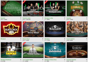 Unibet Casino Offer an Exciting Range of Games to Play