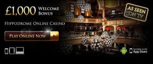As Seen on TV - Hippodrome Casino Online Gaming
