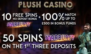 Get Your FREE Spins at Plush Casino