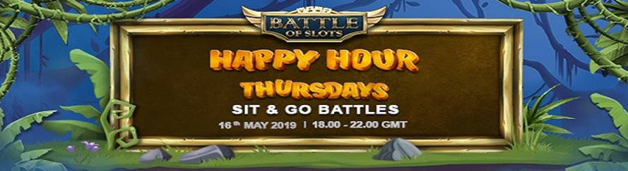 Take Part in The Happy Hour Thursdays Promotion From May