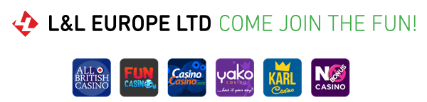 L&L Europe LTD Have an Impressive Range of Brands Including All British Casino