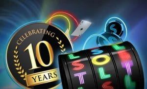 Slots Heaven Celebrating 10 Years