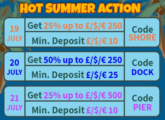 Hot Summer Action Promotion