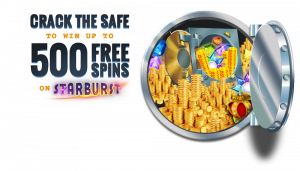 Crack The Vault to Get Up To 500 Bonus Spins