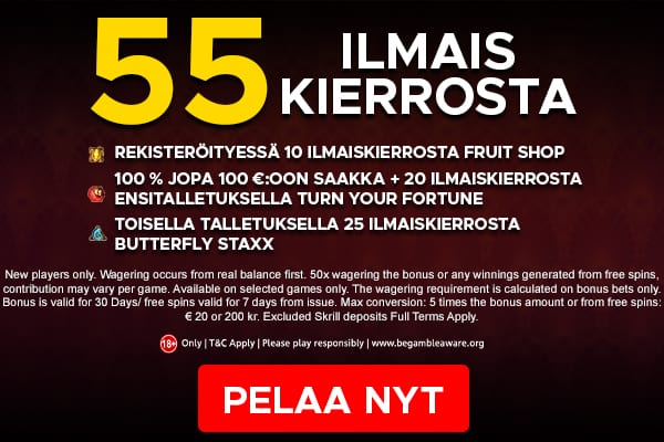 Exclusive Bonus Offer for Players from Finland