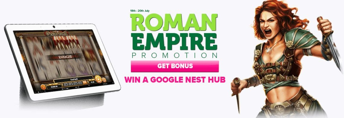 Take Part in The Roman Empire Promotion This July