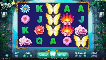 Butterfly Staxx 2 Slot Game Online