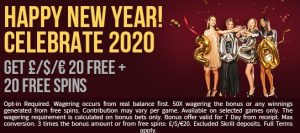Hippozino Casino New Year Bonus Offers