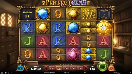 Perfect Gems - New Online Slot Game