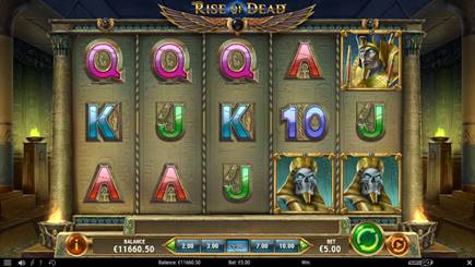 Rise Of The Dead Slot by Play 'n Go