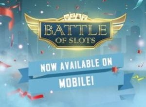 Play Battle of Slots at Video Slots Casino on Mobile Today