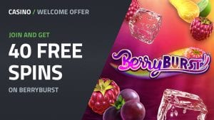Sign Up and Get 40 Free Spins On Berryburst
