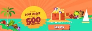 Sunny Wins Casino - Loot Chest Promotion