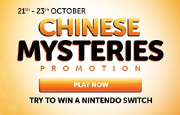 Take Part in the Chinese Mysteries Promotion