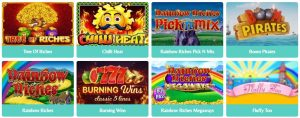 The Impressive Slot Game Lobby Daisy Slots Casino Have on Offer
