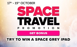Take Part In The Space Aged Promotion