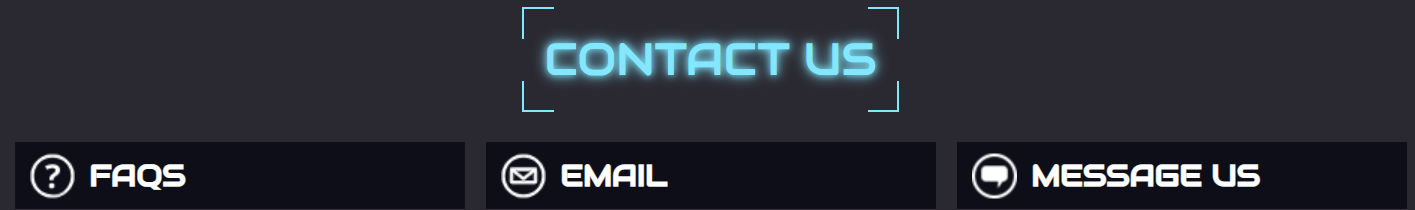 The Contact Options on Offer For Players