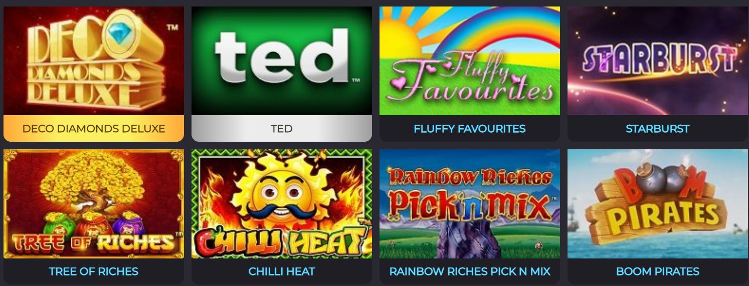 See All The Games Star Slots Casino Has to Offer