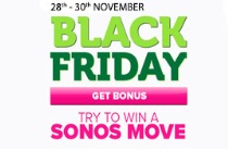 Take Part in The Black Friday Promotion