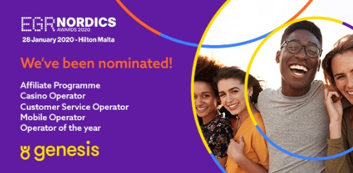 Genesis Global Have Been Shortlisted For Some Awards