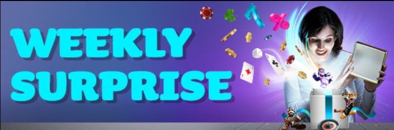 Get Weekly Surprises at MaxiPlay Casino