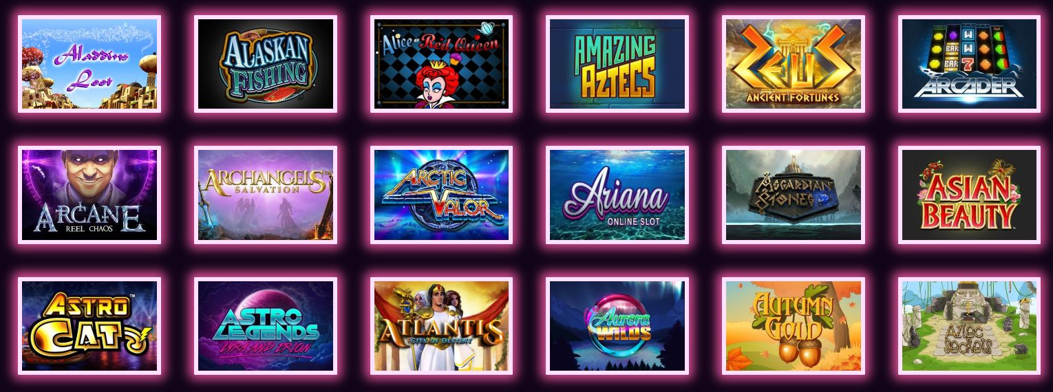 See The Latest Slot Games To Play Today