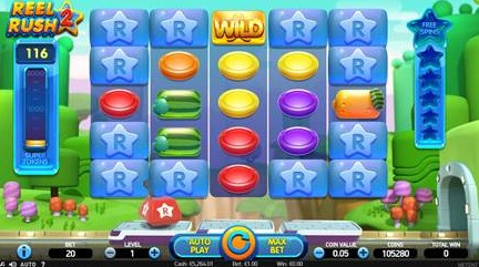 Try out the Impressive Reel Rush 2