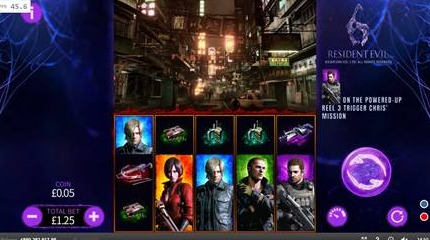 Play the Resident Evil 6 Slot Game at Unibet Casino Today