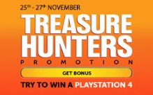 Take Part in The Treasure Hunters Promotion
