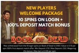 See The Welcome Bonus On Offer at Trada Casino