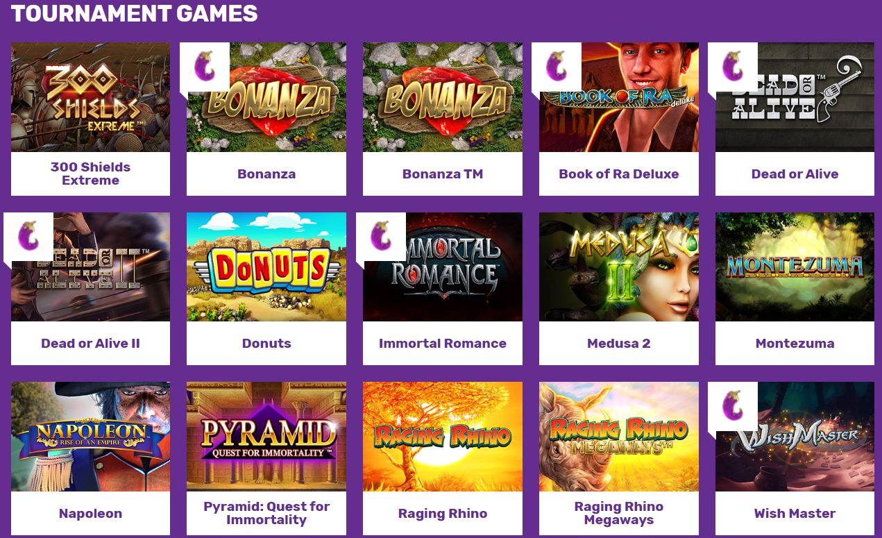See The Latest Tournament Slot Games