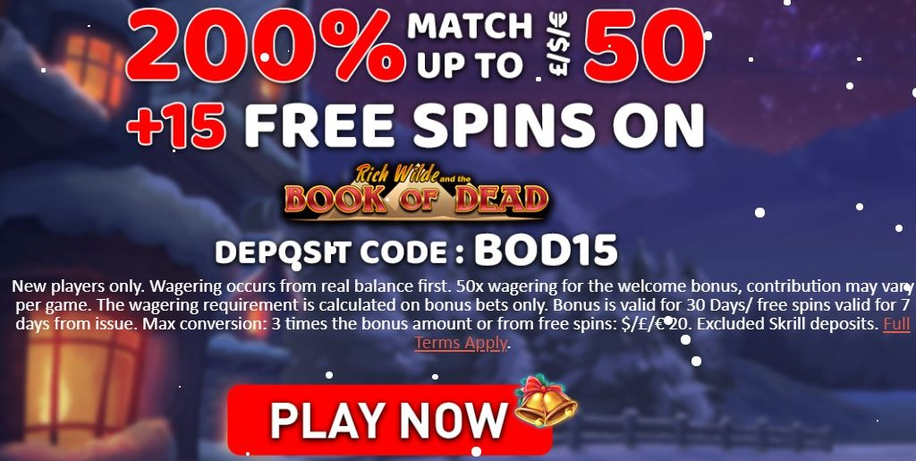 See The Fantastic Christmas Offer at Conquer Casino Today