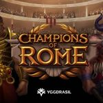 Play Champions of Rome Slot from Yggdrasil