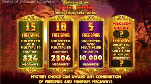 Choose Your FREE Spins