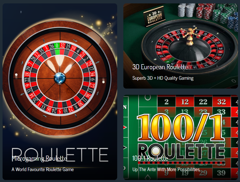 See The Roulette Games That You Can Play