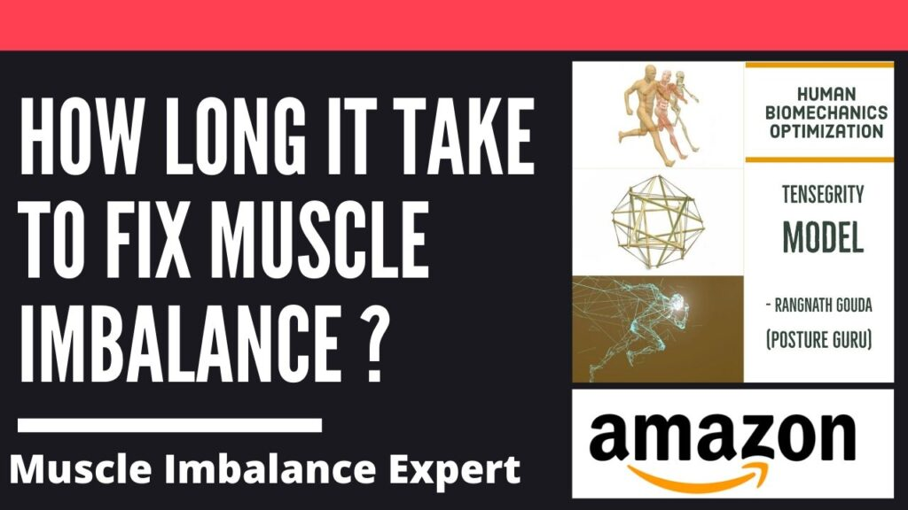 How long does it take to fix muscle imbalance ?