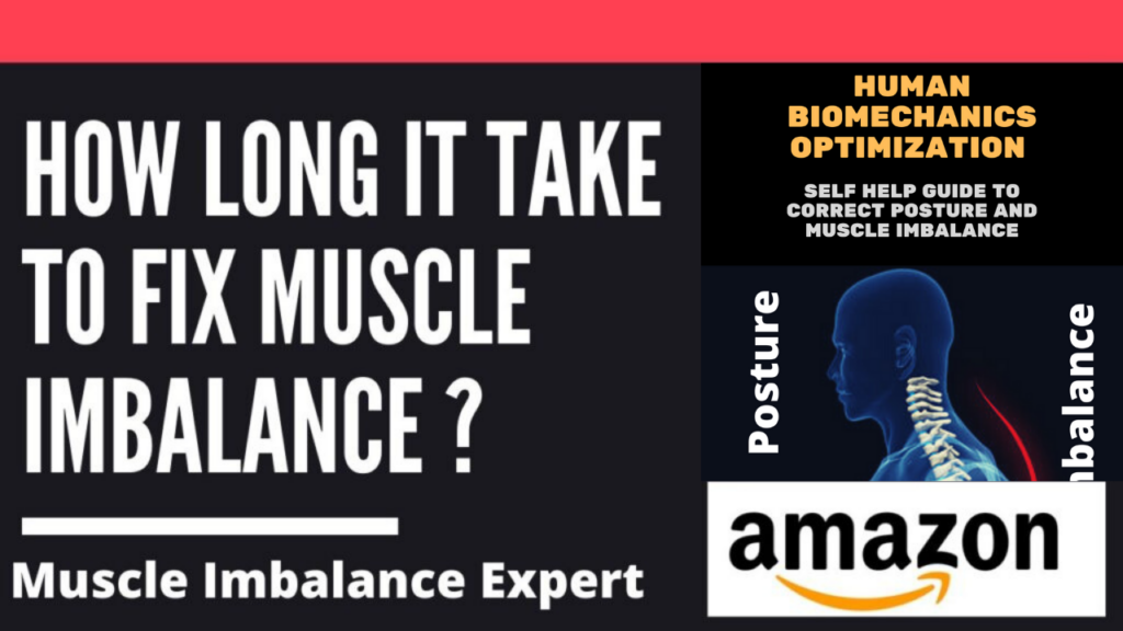 how long does it take to fix muscle imbalance