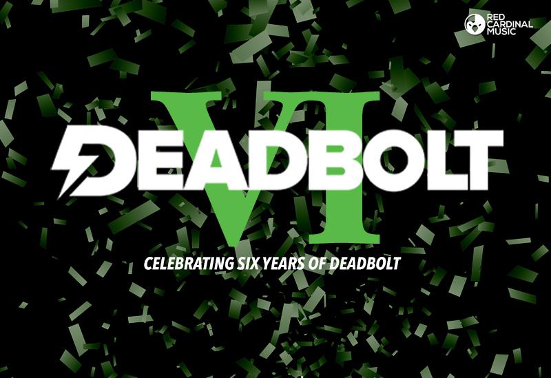 DBVI Deadbolt sixth Birthday Manchester - Red Cardinal Music