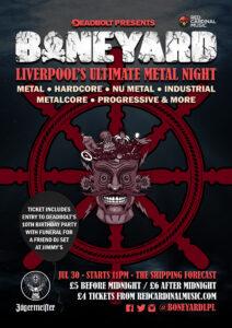 Boneyard - Shipping Forecast Liverpool - Jul 21 - Poster - RGB For Web
