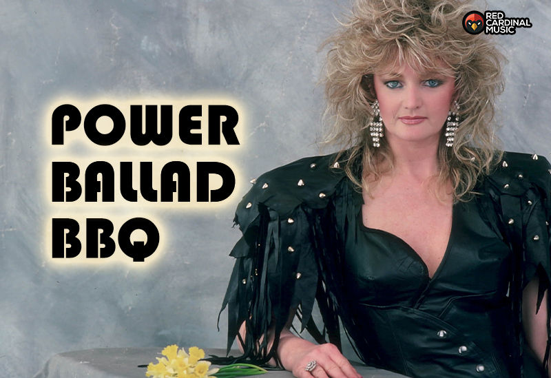 Power Ballad BBQ - Rose & Monkey - Aug 21 - Red Cardinal Music - This Charming Naan