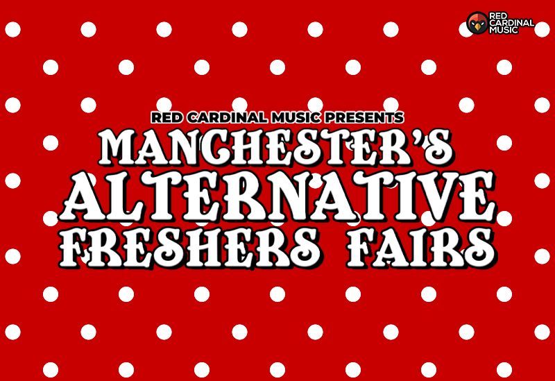 Red Cardinal Music Freshers Fairs 2021 - Footage Manchester - Red Cardinal Music